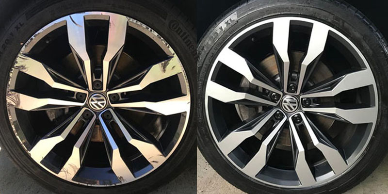 Alloy Wheel Scratch Repair